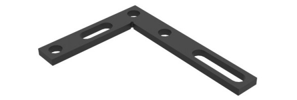 Angle precision square (flat)  350[mm] N.011